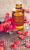 Handmade soap and aroma oil — Stok fotoğraf