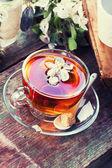 травяной чай — Стоковое фото
