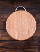 Empty cutting board — Stock Photo