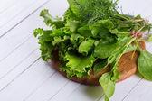 サラダのためのハーブ — ストック写真