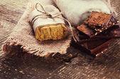 Sapone naturale fatto a mano — Foto Stock