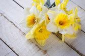 Pocztówka z kwiatami — Zdjęcie stockowe