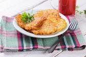 马铃薯煎饼 — 图库照片