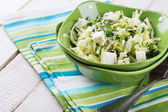 Salad from cabbage — Stock Photo