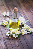 Aroma oil with jasmine — Стоковое фото