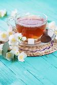 Tasse de thé frais — Photo