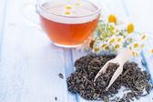 Dry herbal tea — Stock Photo