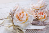 Fresh roses — Stock Photo