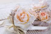 Rosas frescas — Foto de Stock