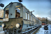 Old disused Railcar — 图库照片