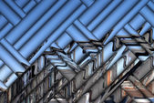 Hamburg Bridge Abstract — Stock Photo