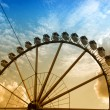 Stock Photo: Ferris wheel in Hamburg