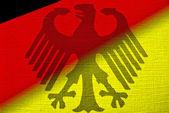 Eagle Flag — Stock Photo