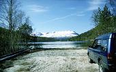 Lente in Noorwegen — Stockfoto