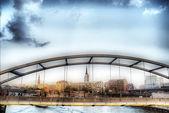 гамбург и его мосты — Стоковое фото