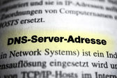 DNS Server Address — Stock Photo