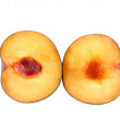 Stock Photo: Plum halves