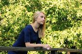 Blonde girl — ストック写真