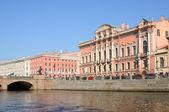 Palace of Beloselskih-Belozerskih — Stock Photo