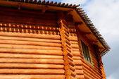 Casa di tronchi — Foto Stock