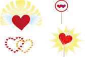 Aşk sembolleri — Stok fotoğraf