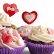 Valentine cupcakes — Stock Photo #18617905