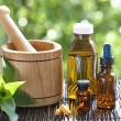 Alternative medicine - Stock Photo