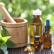 Alternative medicine - Foto Stock