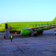 S7 Airlines plane. — Stock Photo