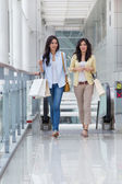 Asian women shopping. — Stock Photo