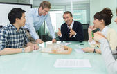 Office people in meeting — 图库照片