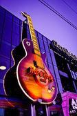Hard Rock Cafe Sign — Stock Photo