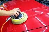 Polished car wax — Stockfoto