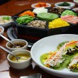 Stock Photo: Korecuisine set