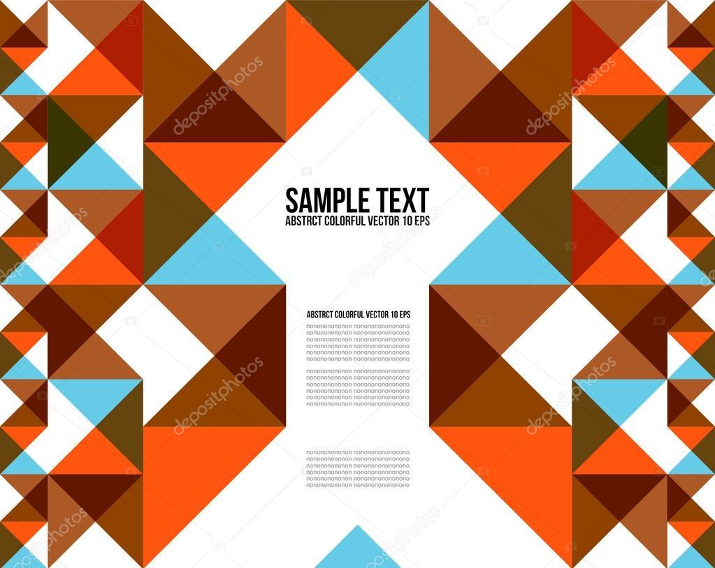 Magazine word background stock photography image 12291482 -  18 Colorful Triangle Pattern Background Cover Layout Magazine