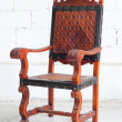 Classic vintage wooden chair — Stock Photo #32410791