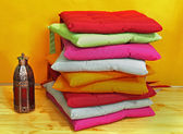 Colorful pillows — Stock Photo