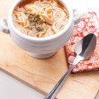 Thai tom yum noodle soup — Stock Photo