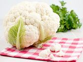 Cauliflower head with florets — Stock Photo