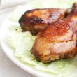 Buffalo chicken drumsticks — Stock Photo