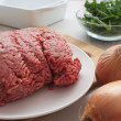 Royalty-Free Stock Photo: Ground meat