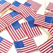 Stock Photo: USA flags