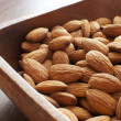 Almonds nuts — Stock Photo