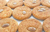 Almond cookies — Stockfoto