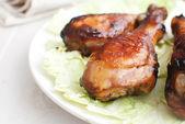 Buffalo chicken drumsticks — Stock Photo
