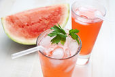 Watermelon punch — Stock Photo