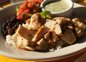 Mexican style chicken — Stock Photo