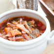 Royalty-Free Stock Photo: Traditional russian or ukrainian soup borscht