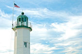Lighthouse in america, usa — Stock Photo