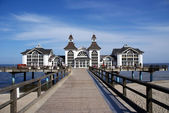Pier of Sellin - Rügen, Germany — Stock Photo